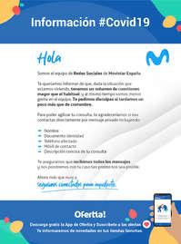 Información Movistar #Covid19