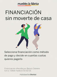 Financiación sin moverte de casa