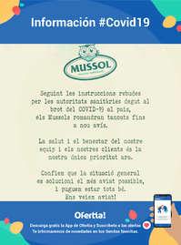 Información Mussol #Covid19