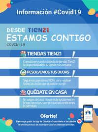 Información Tien21 #Covid19