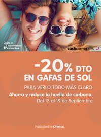-20% dto en gafas de sol 😎