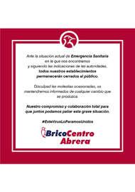 Bricocentro Informa - Abrera #EsteVirusLoParamosUnidos