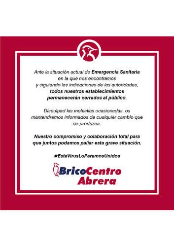 Bricocentro Informa - Abrera #EsteVirusLoParamosUnidos- Page 1
