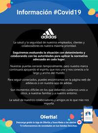 Información Adidas #Covid19