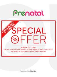 Special offer en puericultura y juguetes