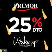 Wakeup cosmetics con 25%