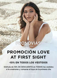 Promoción Love at first sight