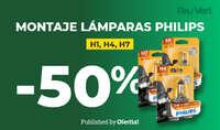 Montaje lámparas Philips 👌