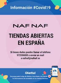 Información Naf Naf#covid19