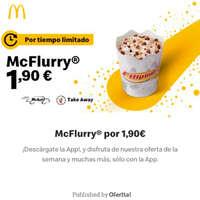 McFlurry por 1,90€