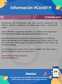 Información Infocoste #Covid19