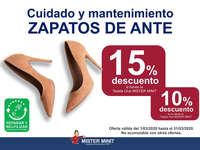 Cuidado y mantenimiento en zapatos de ante