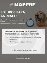 Seguros para animales 🐶❤️
