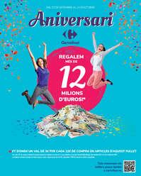 Aniversari. Regalem més de 12 milions d'euros!