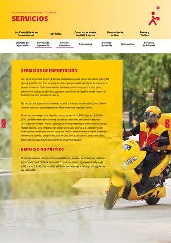 guía de servicios y tarifas 2020- Page 1