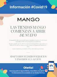 Información MANGO #covid19