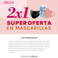 2x1 en supermascarillas