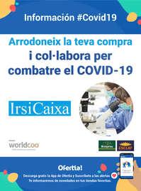 Arrodoneix la teva compra i col·labora per combatre el #covid19