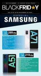 Black Friday Especial Samsung