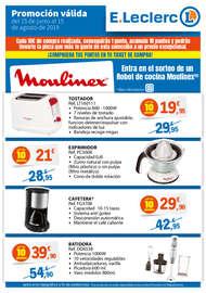 Promoción Rowenta Moulinex 2019