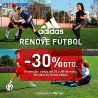 Renove fútbol -30% dto