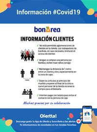 Información para clientes bonÀrea #covid19