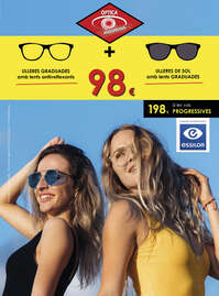Òptica Andorrana. Ulleres graduades + ulleres de sol