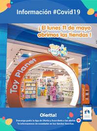 Información Toy Planet- Abriremos tiendas #Covid19