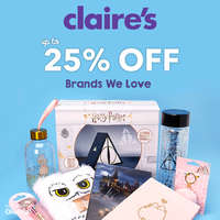 Up to 25% off in brands we love