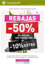 Rebajas -50% en más de 500 productos