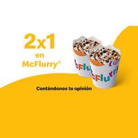 2x1 en McFlurry