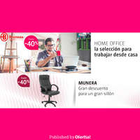 Hasta un 40% en homeoffice