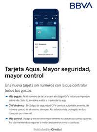 Tarjeta Aqua