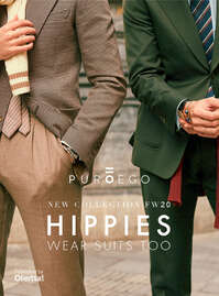 Hippies wear suits too