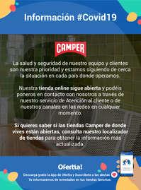 Información Camper #covid19