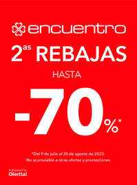2as Rebajas. Hasta -70%