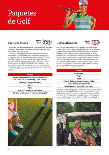 Golf en República Dominicana y México- Page 1
