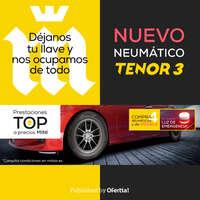 Nuevo neumático Tenor 3 🚗