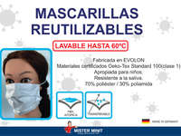 Mascarillas reutilizables