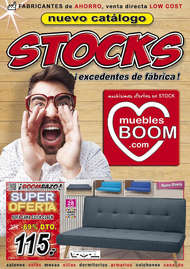Stocks, ¡excedentes de fábrica!