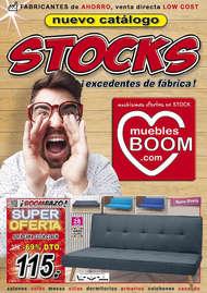 Stocks, ¡excedentes de fábrica!