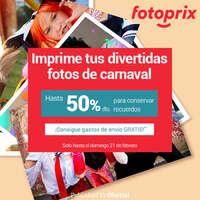 Imprime tus fotos de Carnaval