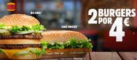 2 burgers por 4€