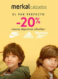 -20% en marcas deportivas infantiles