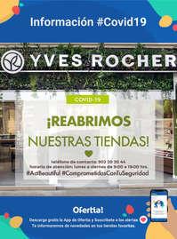 Información Yves Rocher #Covid19