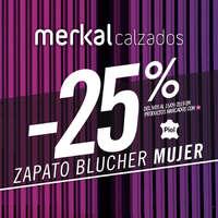 -25% blucher mujer