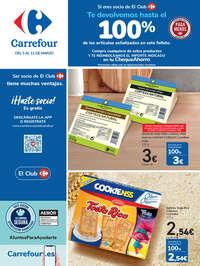 Te devolvemos hasta el 100% de los productos señalizados en este folleto