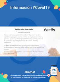Información Dormity.com #Covid19