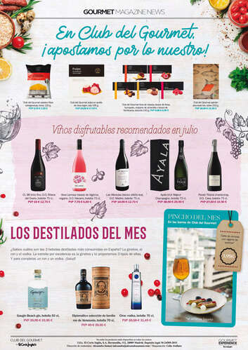 Gourmet Magazine News de Julio 🍷- Page 1