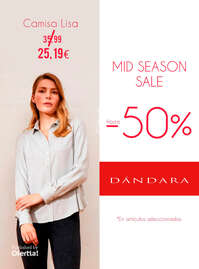 Mid Season Sale hasta -50%